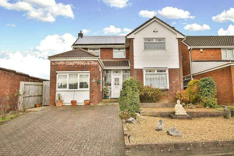 3 Bedrooms Detached House for sale in Dylan Close, Llandough, Penarth