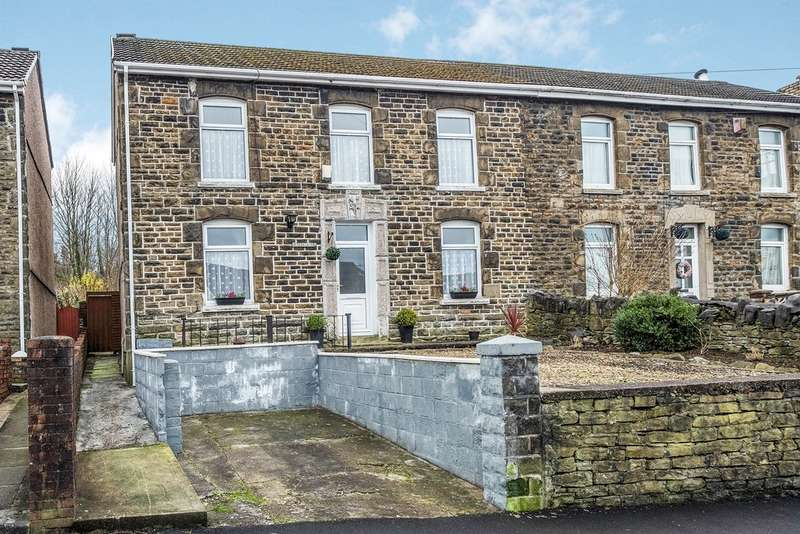 3 Bedrooms Semi Detached House for sale in Midland Place, Llansamlet, Swansea