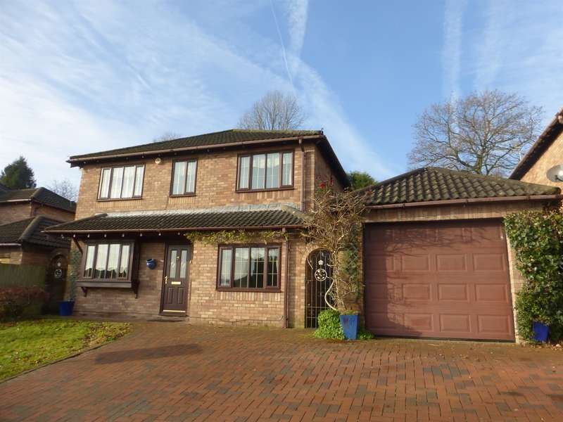 4 Bedrooms Detached House for sale in Beechwood Drive, Llantwit Fardre, PONTYPRIDD