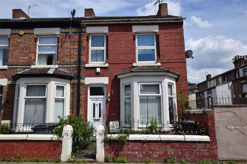 3 Bedrooms End Of Terrace House for sale in Park Road, Tranmere