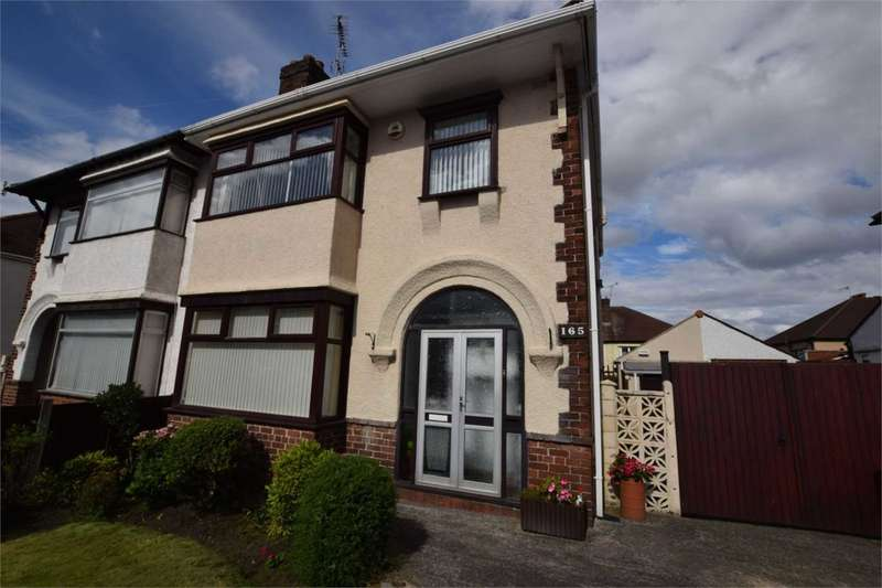 3 Bedrooms Semi Detached House for sale in Storeton Road, Prenton