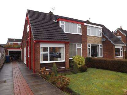 2 Bedrooms Semi Detached House for sale in Spring Gardens, Penwortham, Preston, Lancashire, PR1