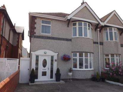 4 Bedrooms Semi Detached House for sale in East Parade, Rhyl, Denbighshire, LL18