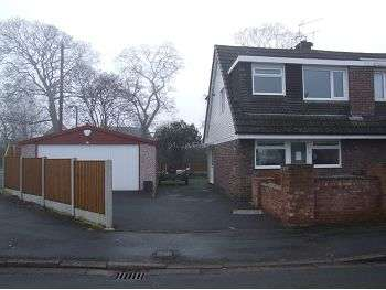 3 Bedrooms Semi Detached House for rent in Haddon Close, Macclesfield, Cheshire SK11 7YG