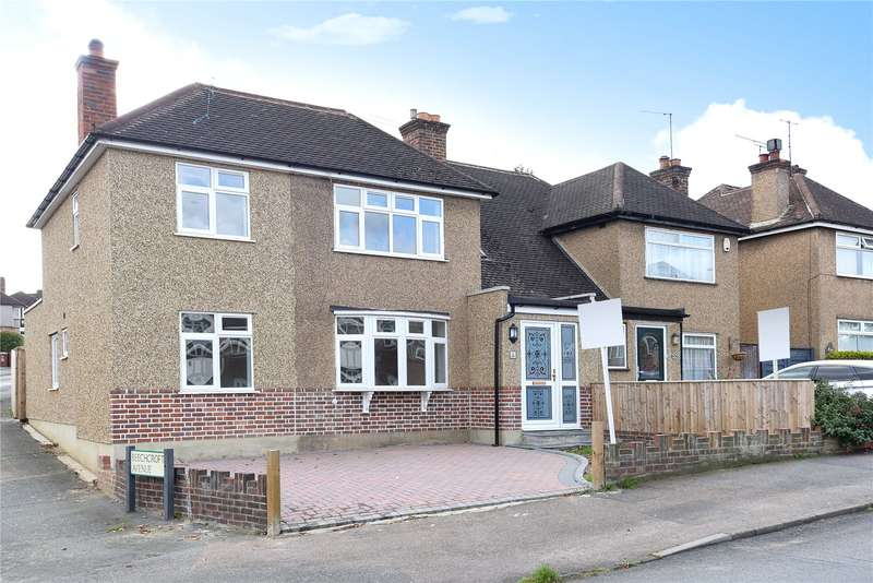 4 Bedrooms Semi Detached House for sale in Valley Walk, Croxley Green, Hertfordshire, WD3