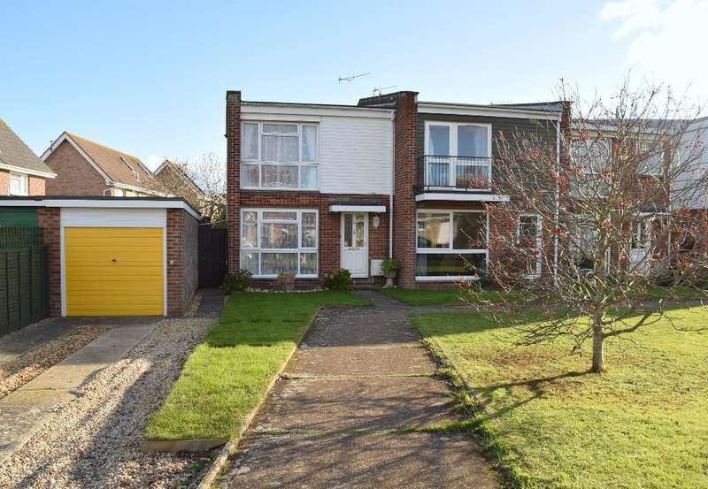 3 Bedrooms End Of Terrace House for sale in Downsview Road, Bembridge, Isle of Wight, PO35 5QT