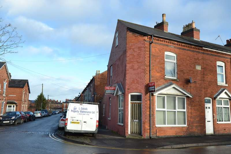 3 Bedrooms End Of Terrace House for sale in Taunton Road, Balsall Heath, Birmingham, B12