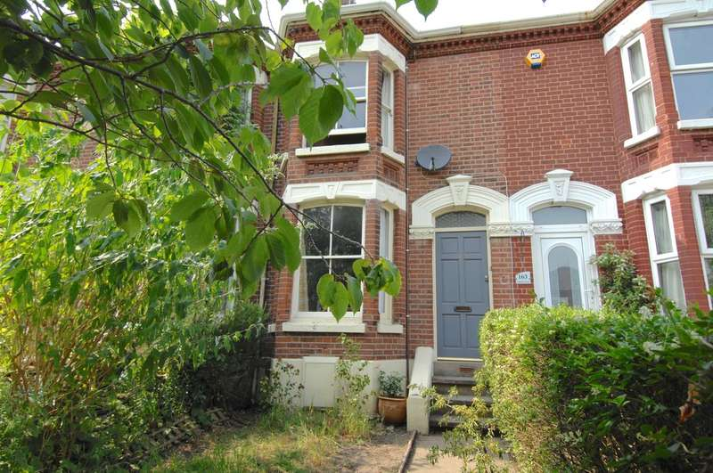 2 Bedrooms Terraced House for rent in Unthank Road, Norwich, NR2