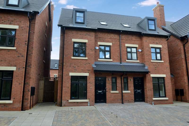 4 Bedrooms Semi Detached House for rent in Old Boatyard Lane, Worsley, Manchester , M28