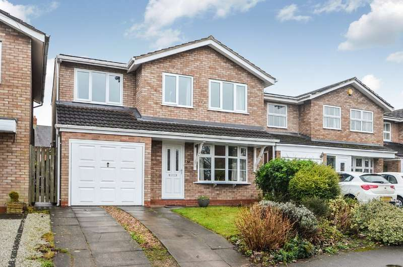 5 Bedrooms Detached House for sale in Larchfields, Wolston, Rugby