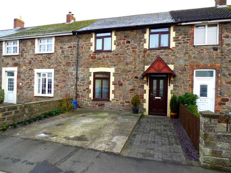 3 Bedrooms Terraced House for sale in Stone Cottages, Caldicot, Sudbrook