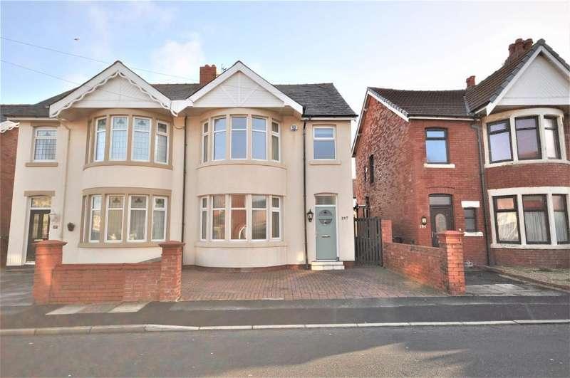 3 Bedrooms Semi Detached House for sale in Warbreck Drive, Bispham, Blackpool, Lancashire, FY2 9PL