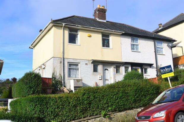 3 Bedrooms Semi Detached House for sale in Wycliffe Road, Plymouth, Devon