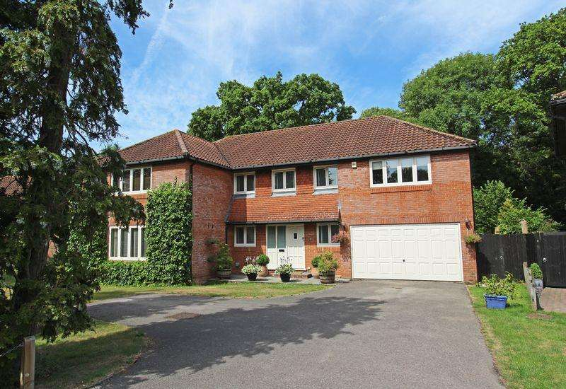 5 Bedrooms Detached House for sale in Silver Birches, Small Dole, Nr. Henfield