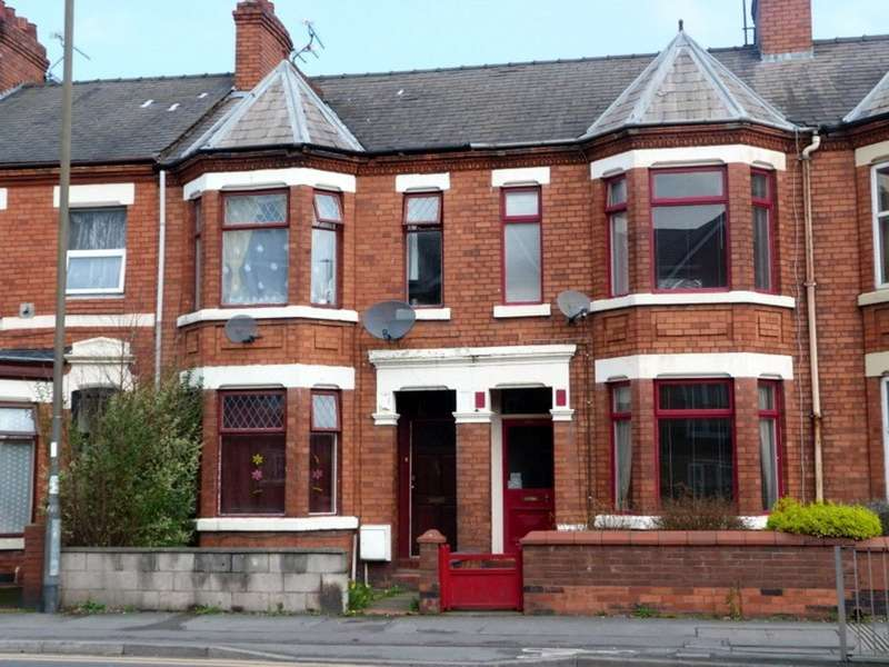 3 Bedrooms Terraced House for sale in West Street, Crewe CW1