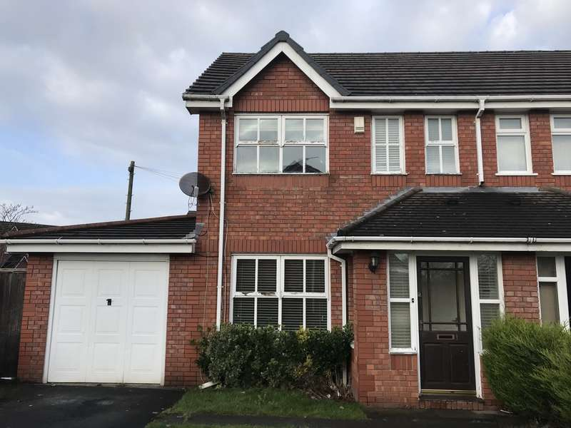 3 Bedrooms Semi Detached House for sale in Cotswolds Crescent, Halewood, Liverpool, L26