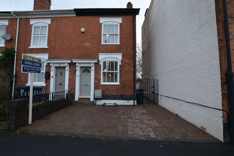 3 Bedrooms End Of Terrace House for sale in Clarence Road, Harborne