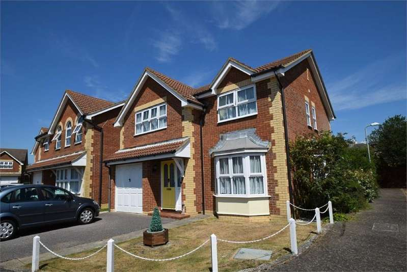 4 Bedrooms Detached House for sale in Darwell Drive, Stone Cross, East Sussex