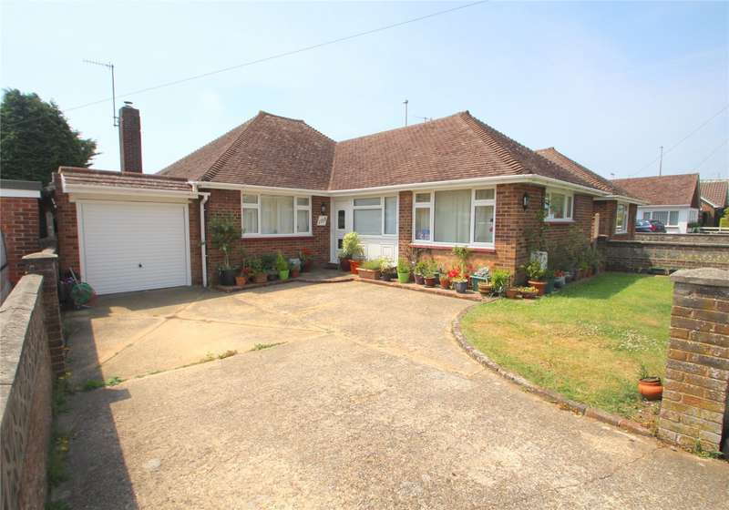 3 Bedrooms Detached Bungalow for sale in Manor Road, North Lancing, West Sussex, BN15