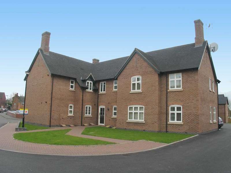 2 Bedrooms Apartment Flat for sale in Flat 4, Teddesley House, Clay Street, Penkridge, ST19 5NE