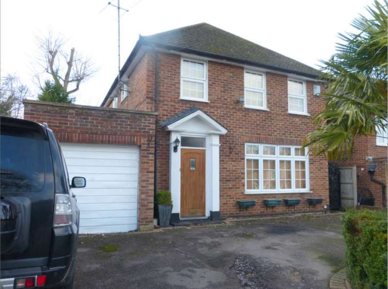 4 Bedrooms Detached House for sale in Hartfield Avenue, Borehamwood