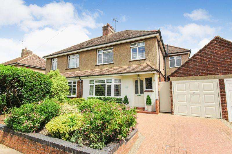 4 Bedrooms Semi Detached House for sale in Grange Road, Ampthill