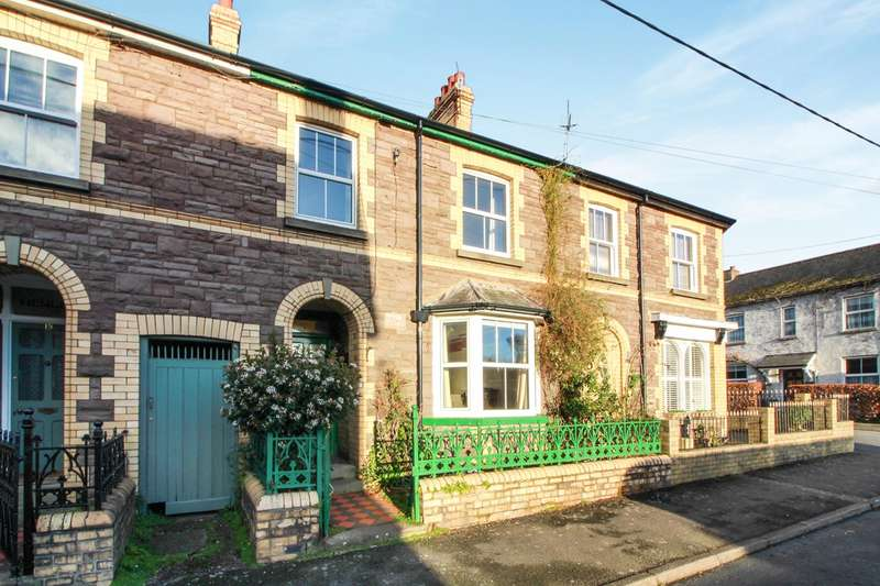 4 Bedrooms Terraced House for sale in Oxford Street, Abergavenny, NP7