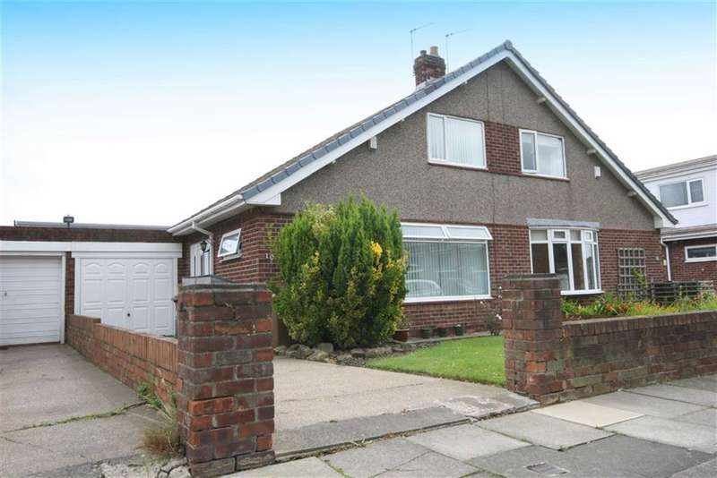 2 Bedrooms Semi Detached House for sale in Chirton Hill Drive, North Shields, Tyne And Wear, NE29