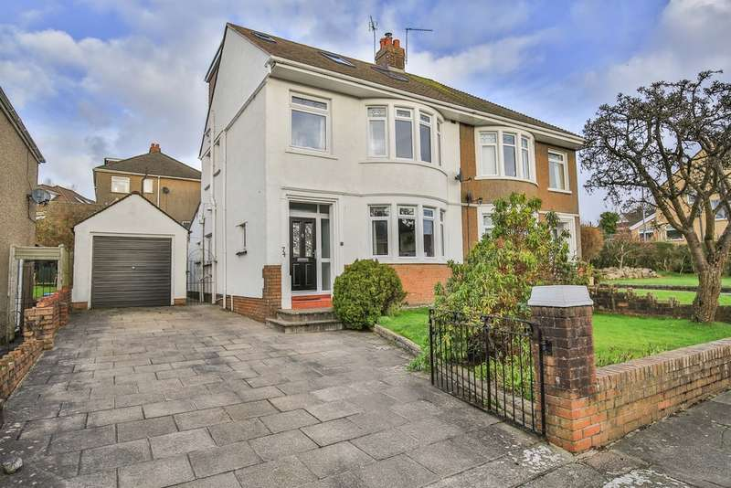 4 Bedrooms Semi Detached House for sale in Everest Avenue, Llanishen, Cardiff