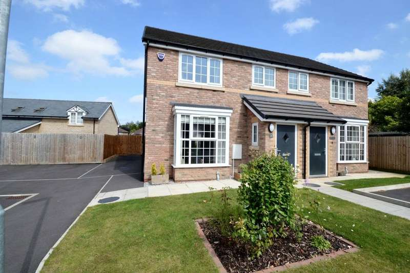 3 Bedrooms Semi Detached House for sale in Ford Farm Close, Lower Walton, Warrington