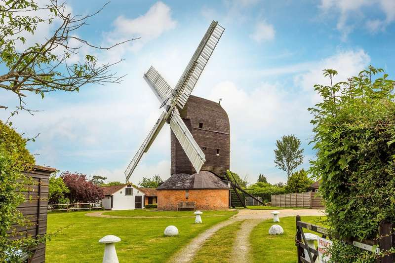 3 Bedrooms Mill Character Property for sale in Outwood Windmill, Outwood Common., RH1 5PP