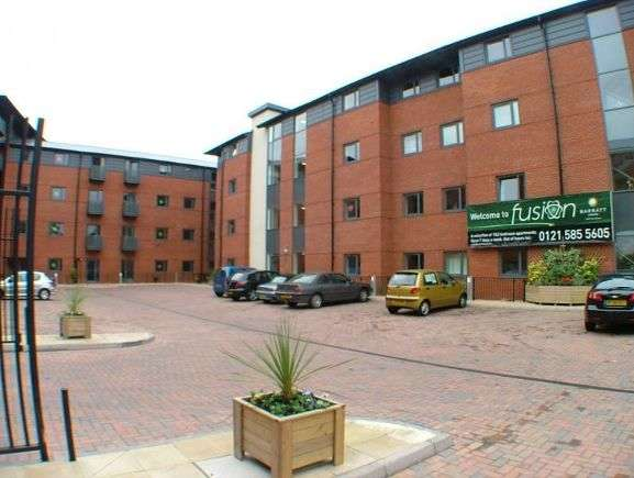 2 Bedrooms Flat for rent in Broad Gauge Way, Wolverhampton