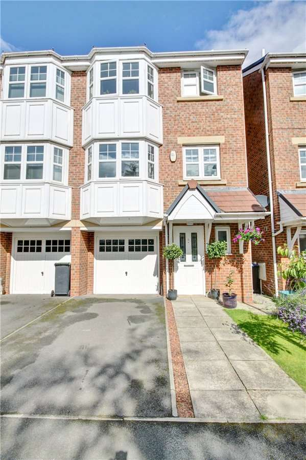4 Bedrooms Semi Detached House for sale in Cheveley Court, Belmont, Durham, DH1