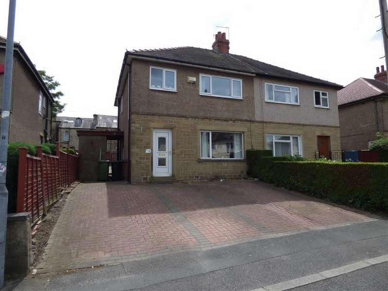 3 Bedrooms Semi Detached House for sale in Kingston Avenue, Dalton, Huddersfield