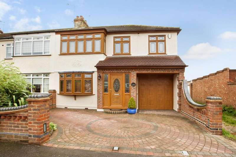 3 Bedrooms End Of Terrace House for sale in Laburnum Avenue, Hornchurch, Essex, RM12