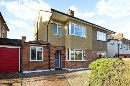 4 Bedrooms Semi Detached House for sale in Starts Hill Road, Locksbottom