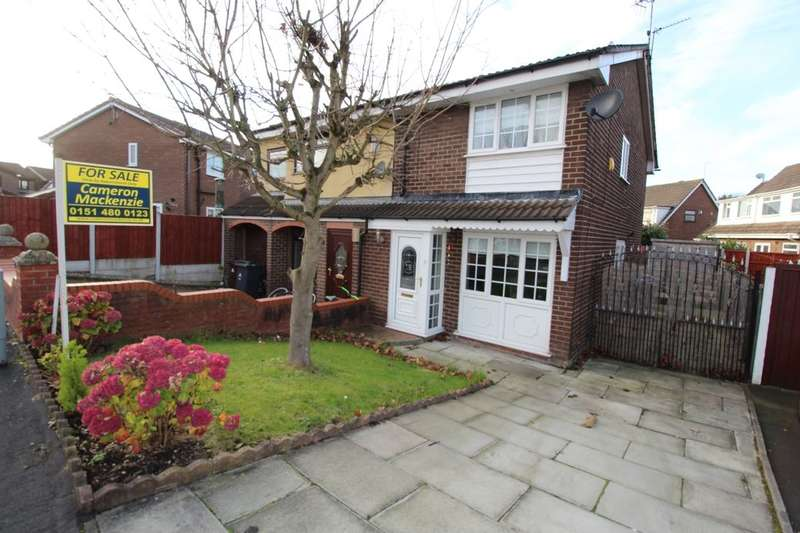 2 Bedrooms Semi Detached House for sale in Ribchester Way, PRESCOT, L35