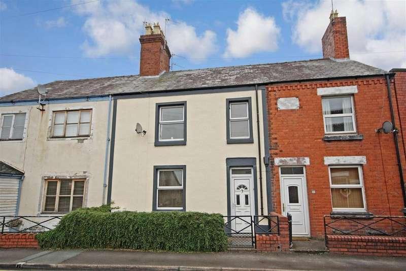 2 Bedrooms Terraced House for sale in Oak Street, Oswestry