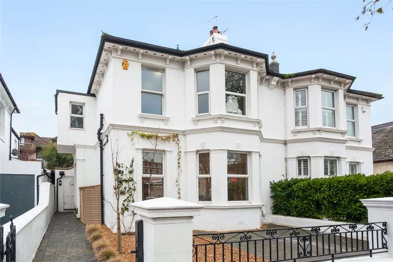 5 Bedrooms Semi Detached House for sale in Westbourne Gardens, Hove, East Sussex, BN3