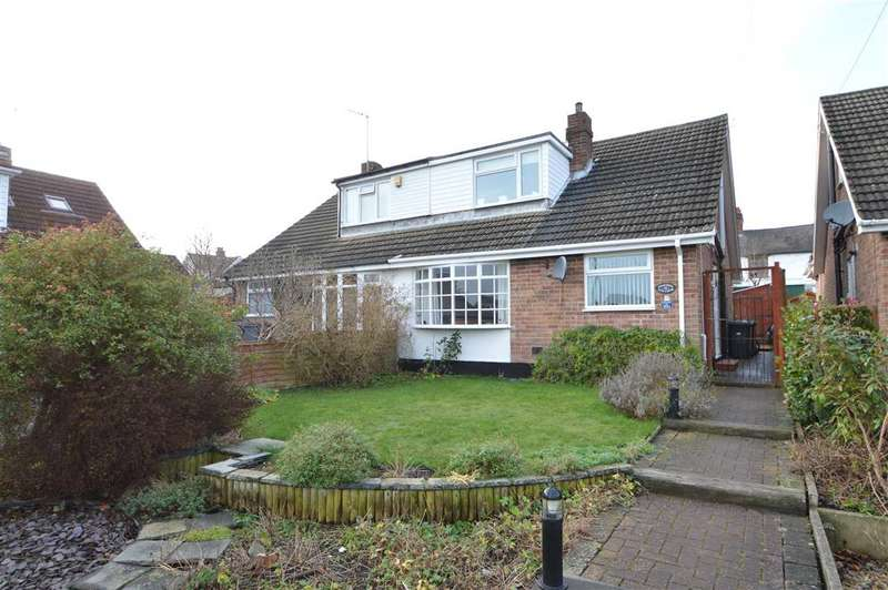 3 Bedrooms Semi Detached House for sale in Elm Close, Keyworth, Nottingham