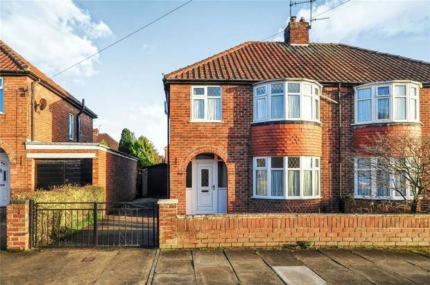 3 Bedrooms Semi Detached House for sale in Cranbrook Road, YORK
