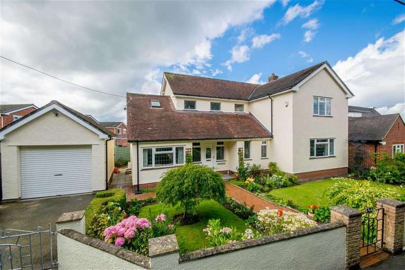 4 Bedrooms Detached House for sale in Bryn Glas, Ruthin