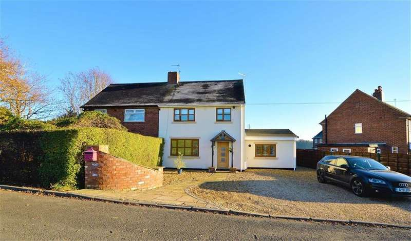 3 Bedrooms Semi Detached House for sale in Hoo Green Lane, Mere, Cheshire, WA16