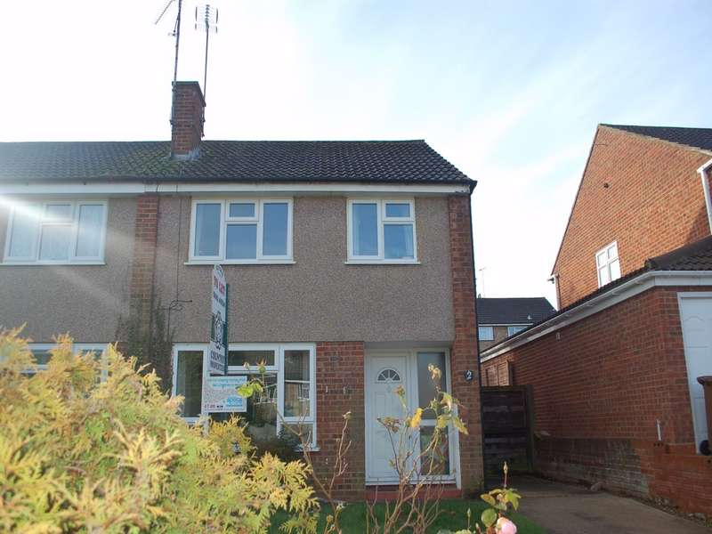 3 Bedrooms Semi Detached House for rent in Kardwell Close, Hitchin, SG4