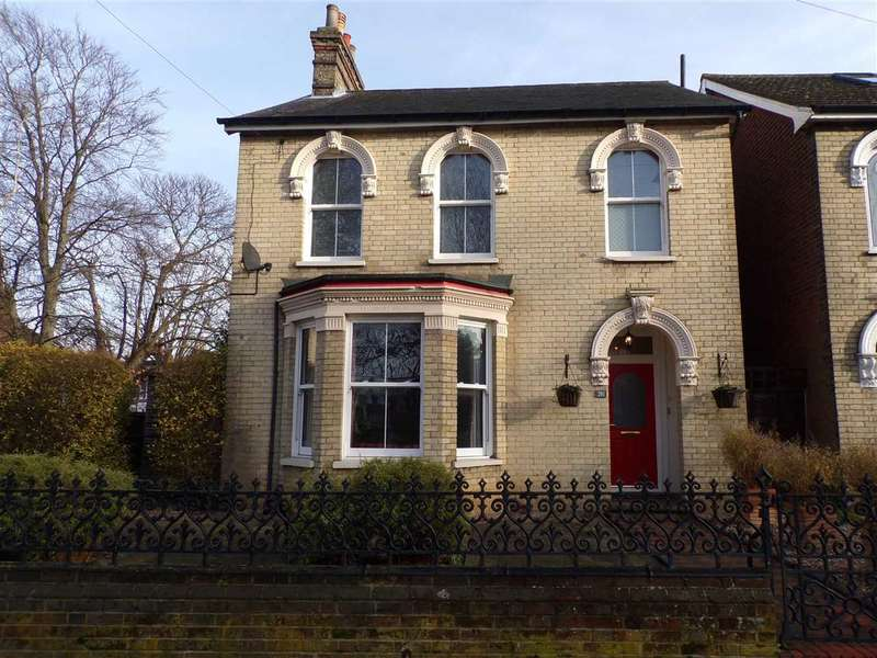 4 Bedrooms Detached House for sale in Nacton Road, Ipswich