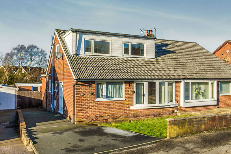 4 Bedrooms Semi Detached House for sale in Foxdale Grove, Preston, PR1