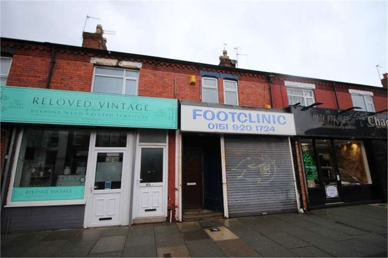 1 Bedroom Flat for sale in St Johns Road, Waterloo, Liverpool, Merseyside