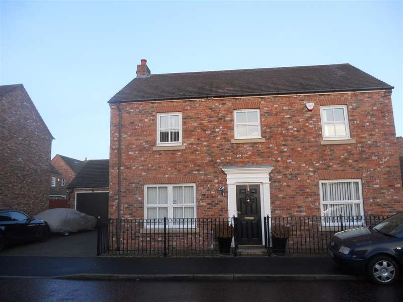 4 Bedrooms Detached House for rent in Sharpeton Drive, Great Park, Newcastle Upon Tyne