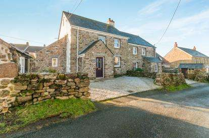 4 Bedrooms Semi Detached House for sale in Pendeen, Cornwall, Uk