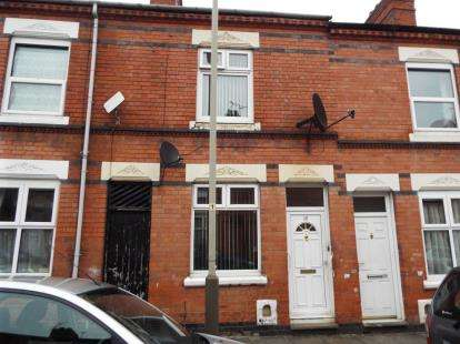 2 Bedrooms Terraced House for sale in Herschell Street, Leicester, Leicestershire